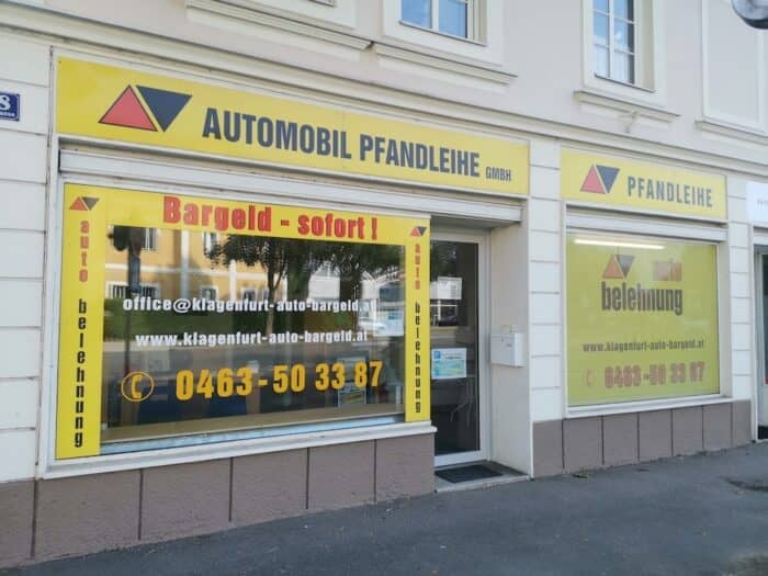 Auto Belehnung in Klagenfurt