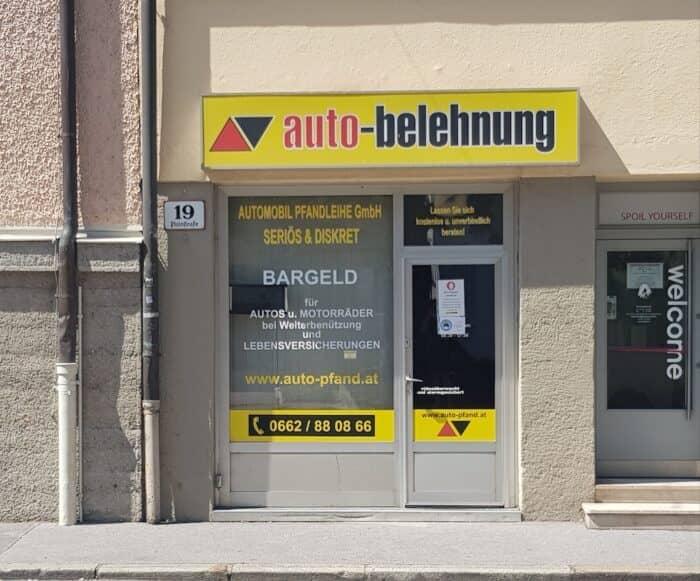 Auto Belehnung in Salzburg